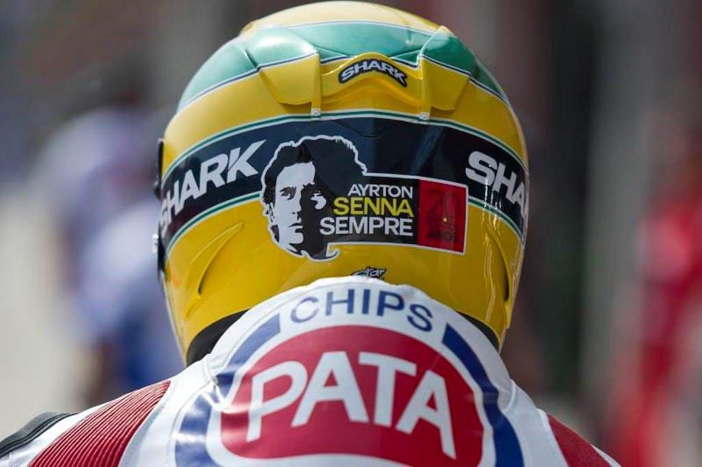 Lorenzo Zanetti: il casco per Senna