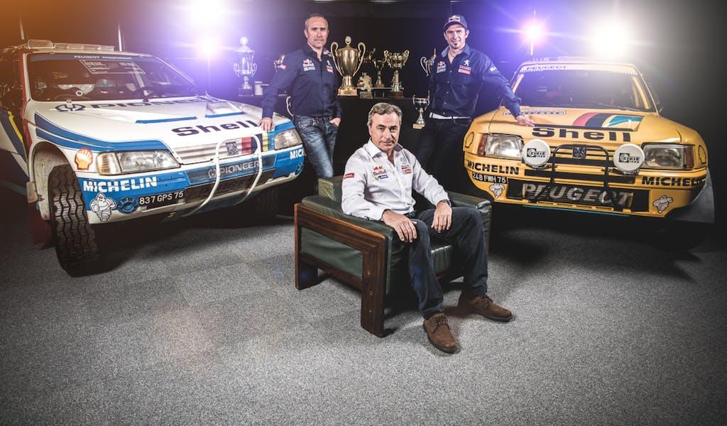 Stéphane Peterhansel alla Dakar con Peugeot
