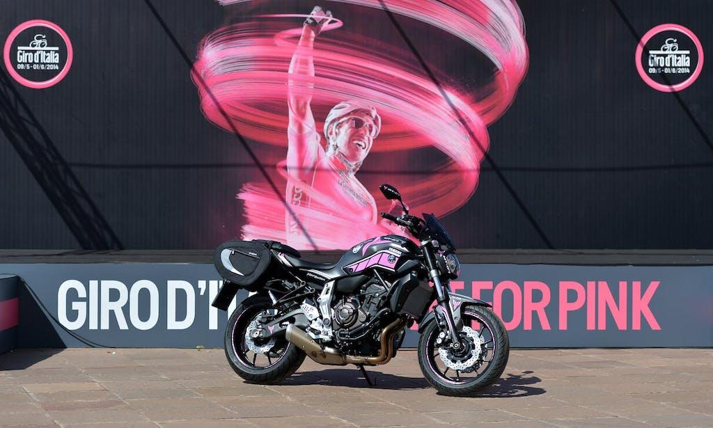 Yamaha MT-07 al Giro d'Italia 2014