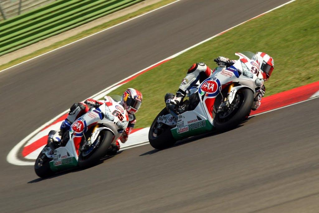 Team Pata Honda SBK: vita da box