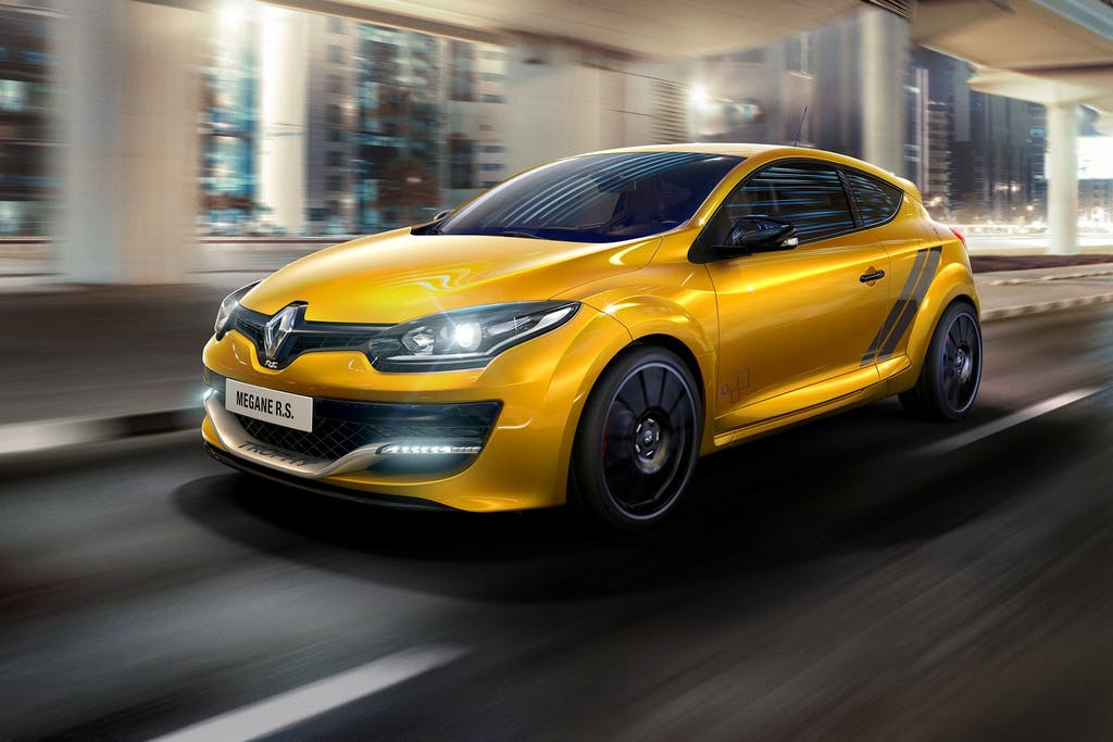 Renault Mégane RS 275 Trophy: guarda ai track day