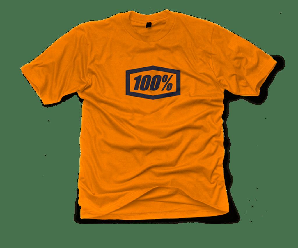 Ride 100% T-Shirt Essential Orange