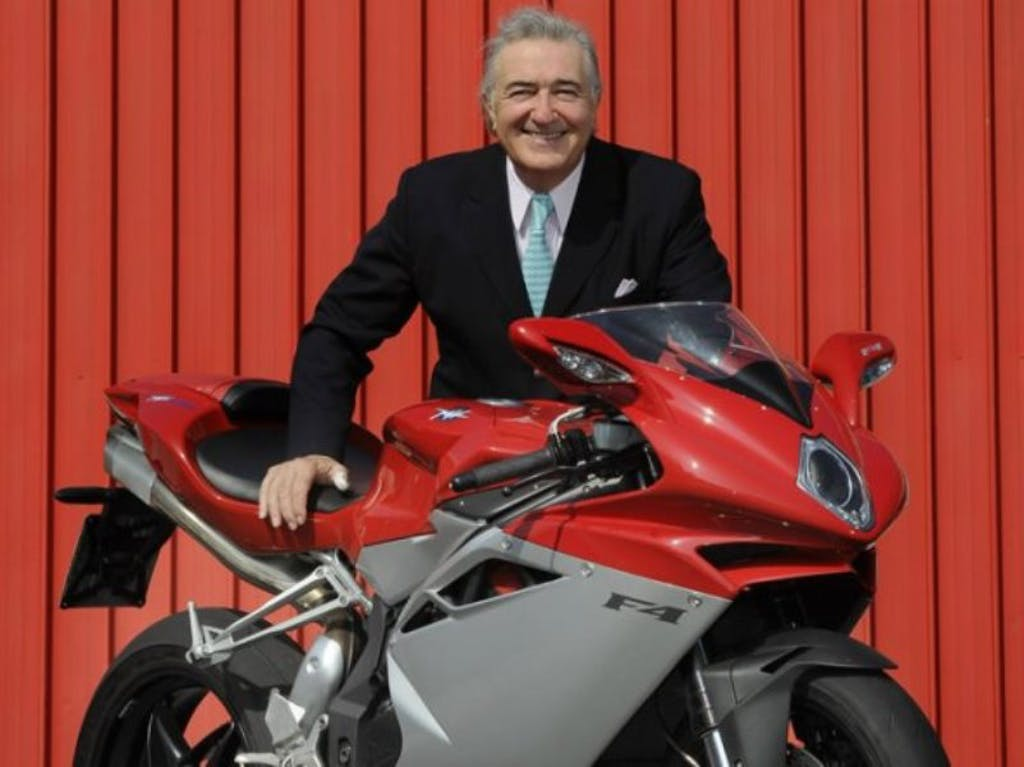 MV Agusta ricorda Claudio Castiglioni