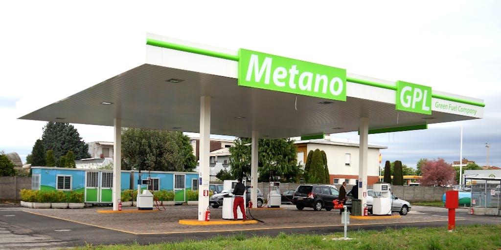 Italia da record, metano a mille