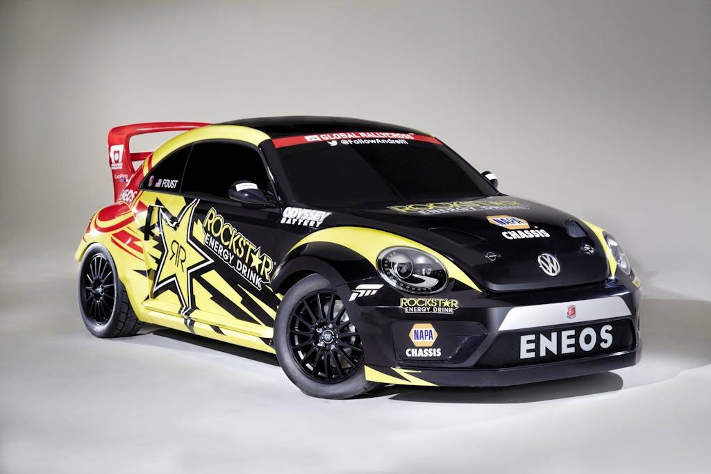 Volkswagen Rallycross-Beetle: la rabbia nel cuore