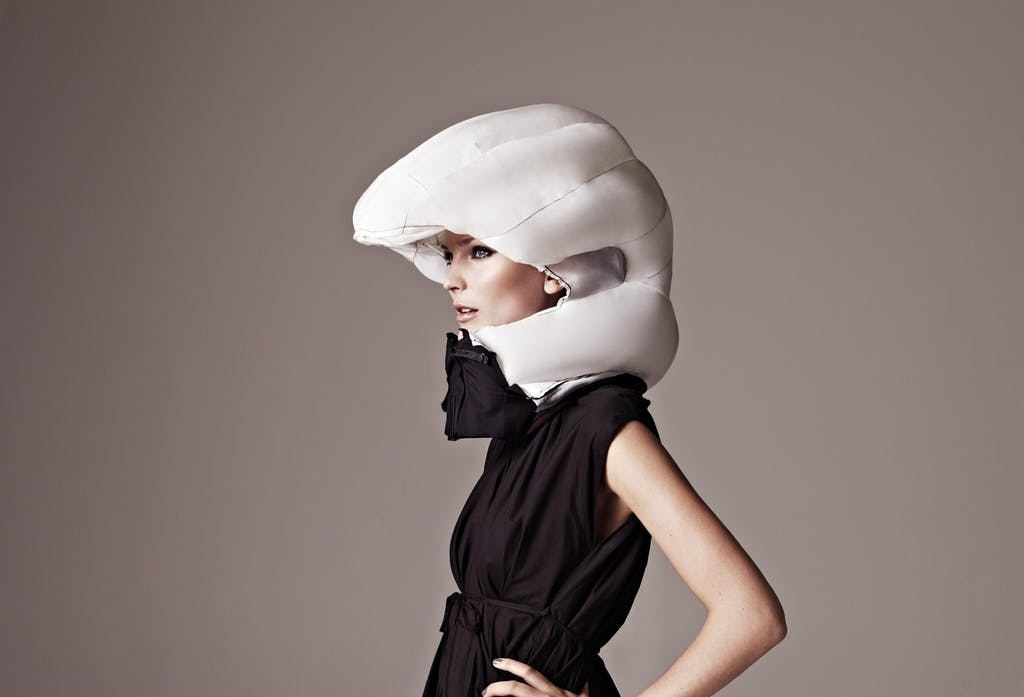 Hövding, il casco invisibile