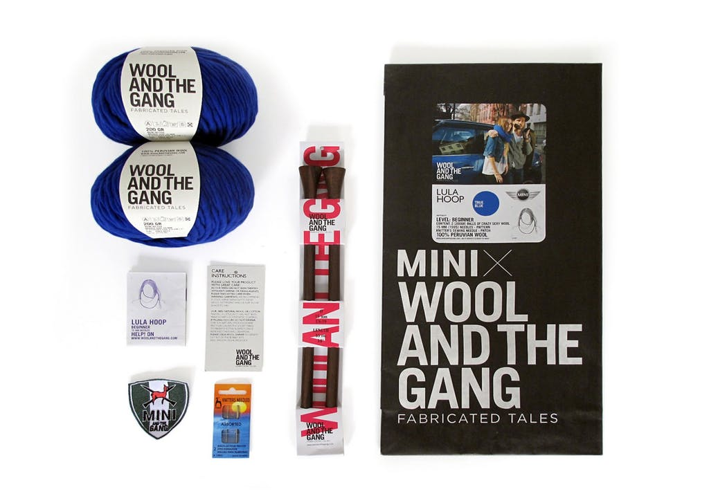 MINI & Wool and the Gang, la partnership