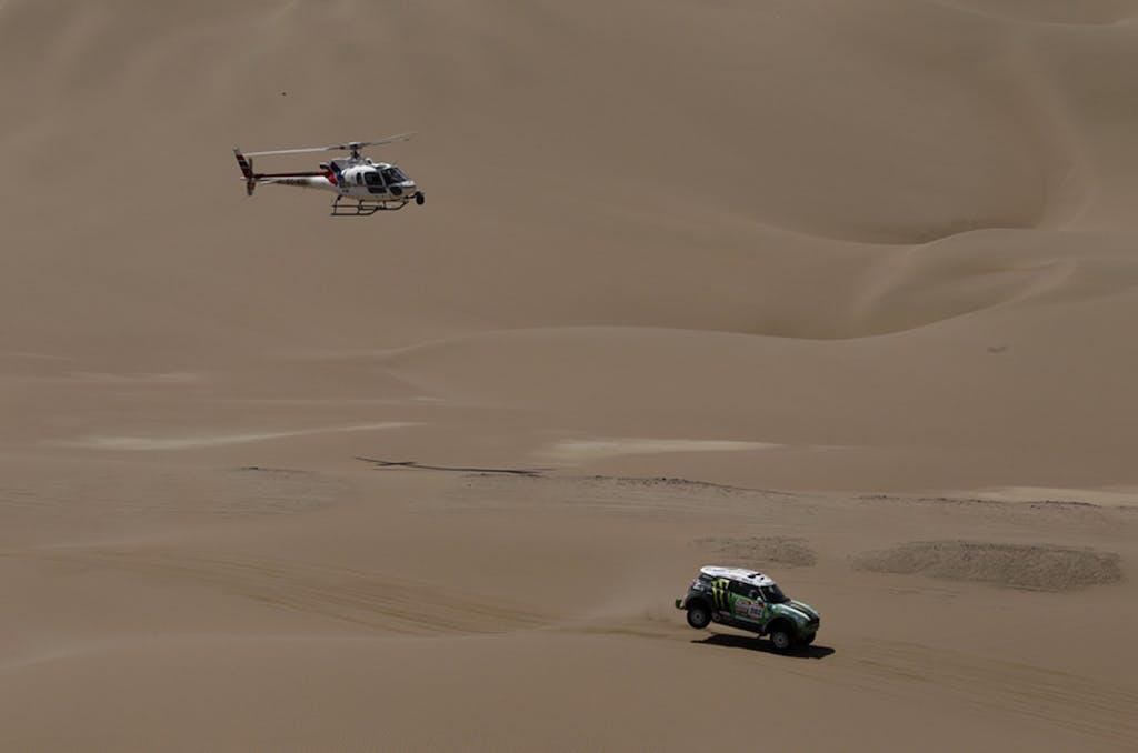 Dakar 2012, stage 11
