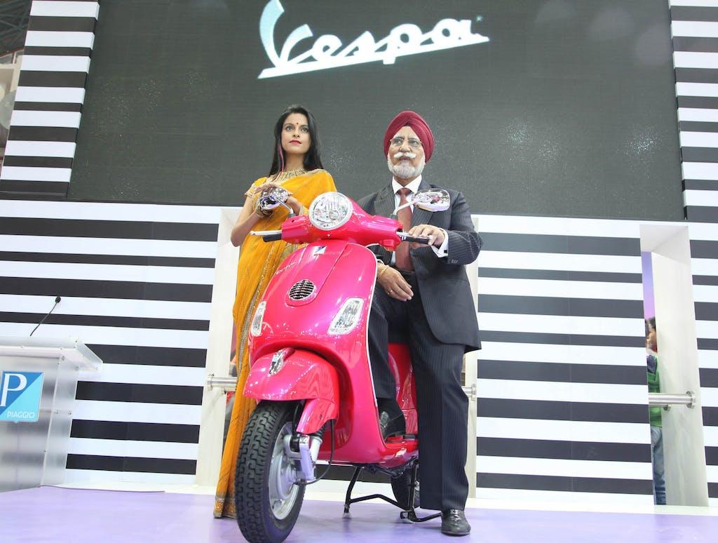 Vespa, al via in India