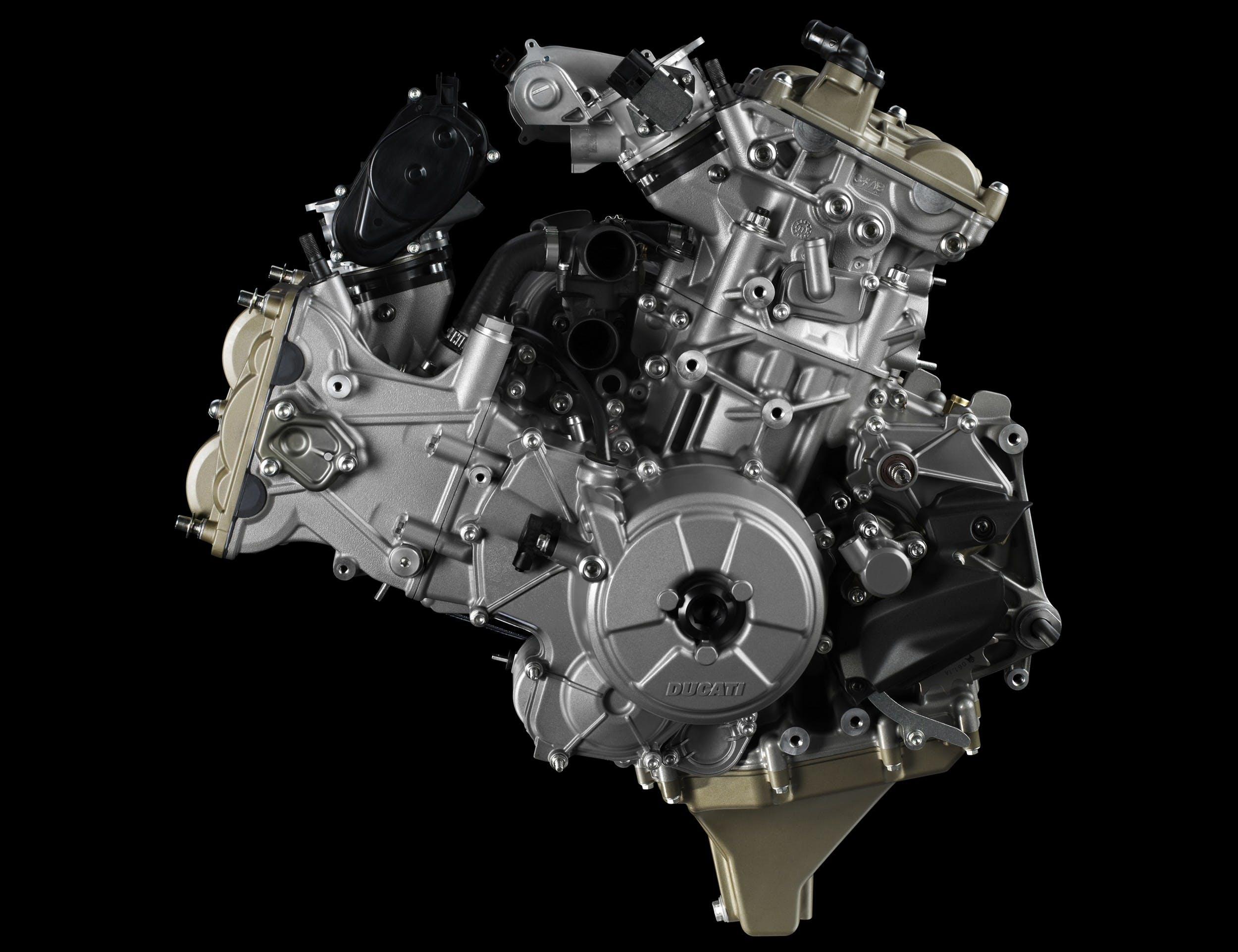 Motore Ducati Superquadro