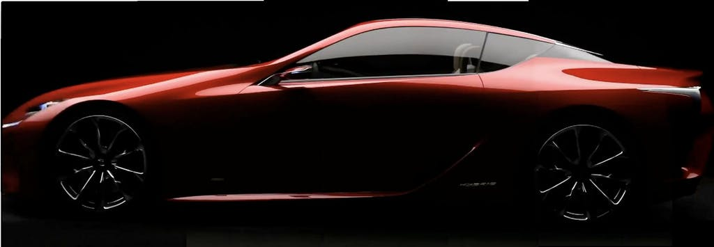 Anteprima Lexus LF-LC