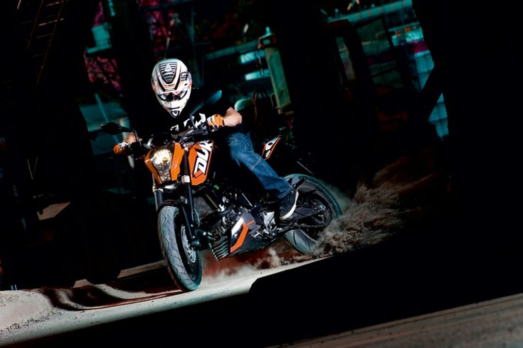 KTM Duke 125 feats Rok Bagoros