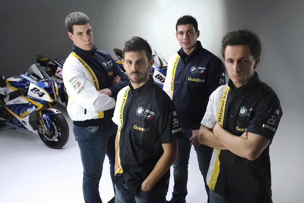 Team SBK BMW Motorrad Italia 2012