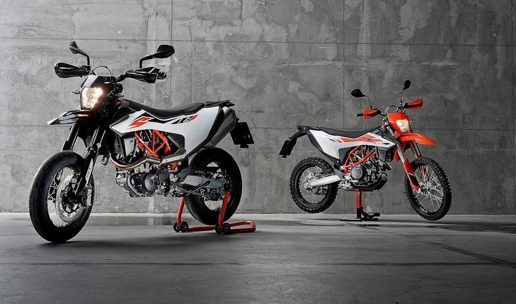 Prova KTM 690 Enduro R e SMC R