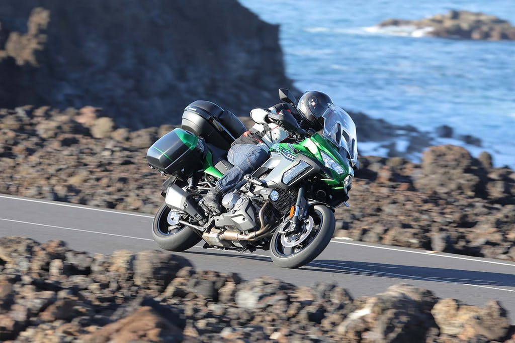 Prova Kawasaki Versys 1000 SE, viaggio in prima classe