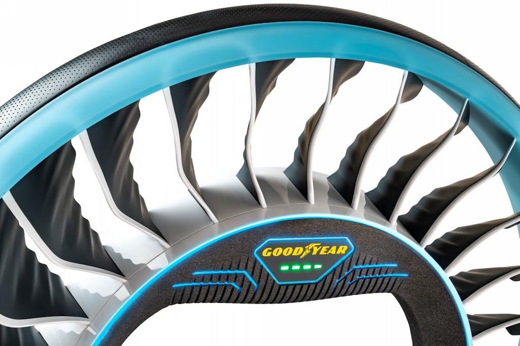 Goodyear AERO, pneumatico per le auto volanti
