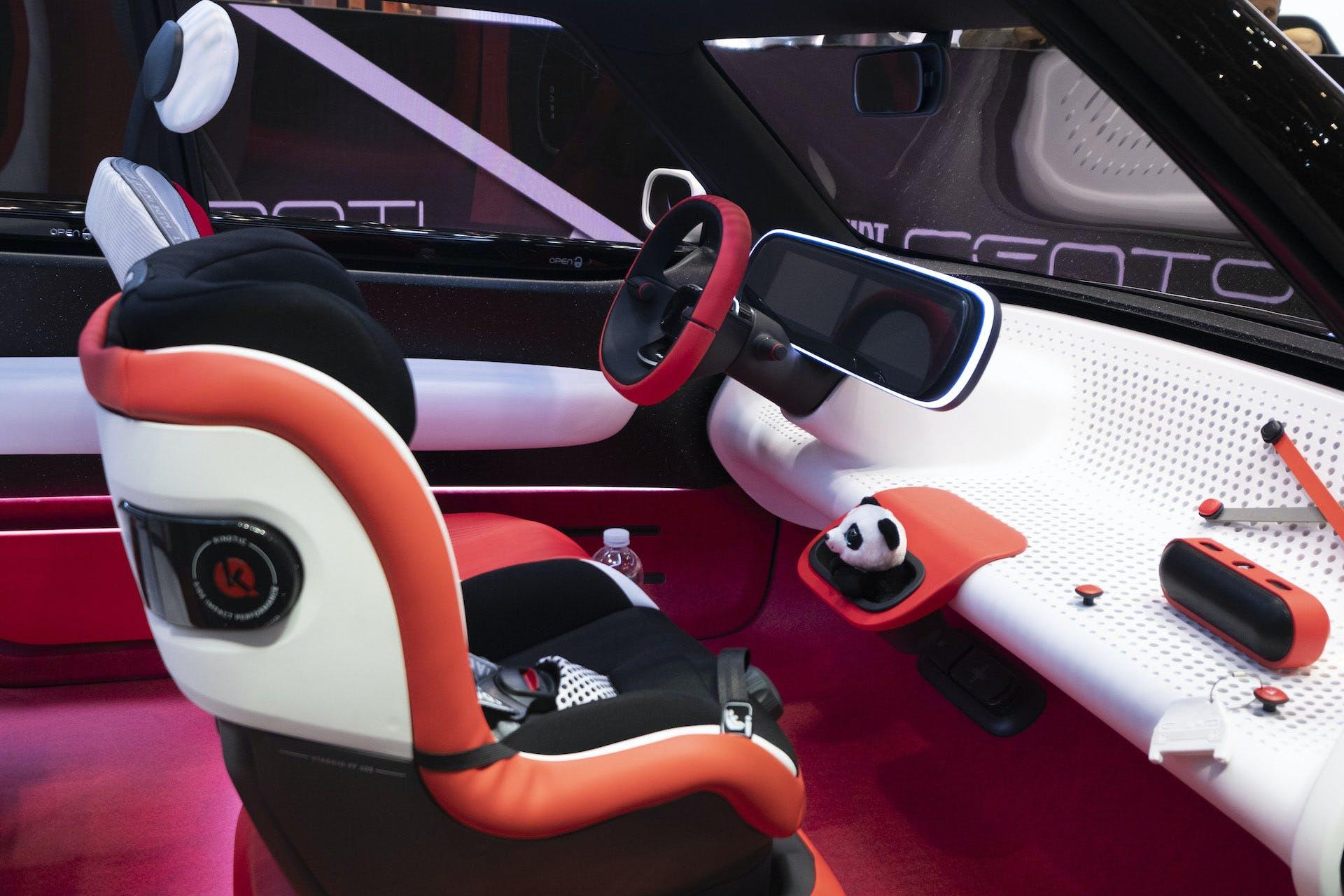 Interni Fiat Concept Centoventi