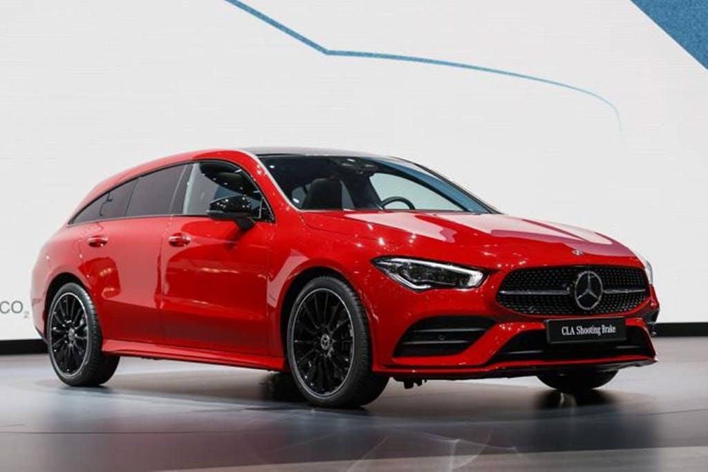Mercedes CLA shooting brake, tutta nuova