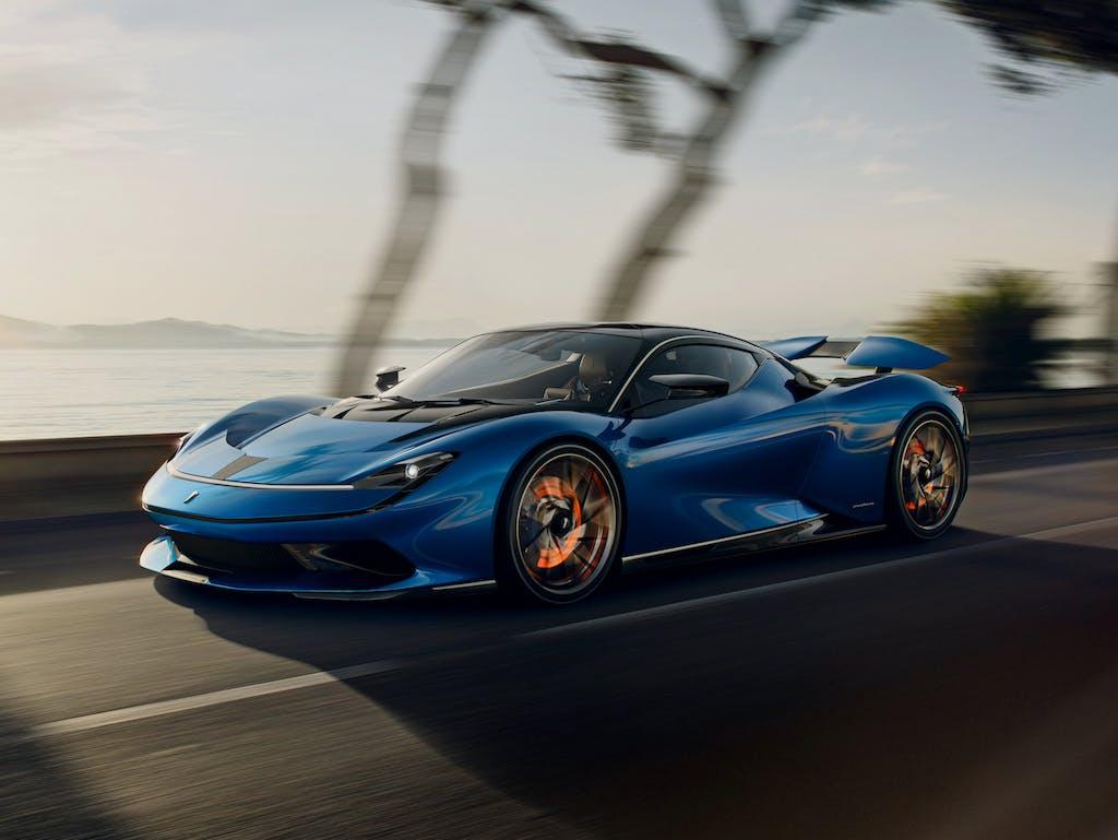 Automobili Pininfarina Battista, il lusso si fa elettrico