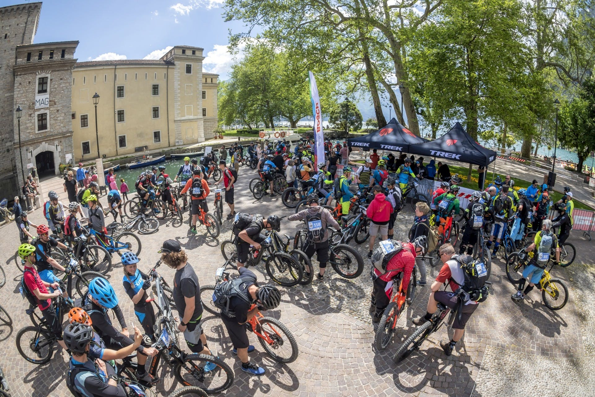 bosch eMtb challenge prova di riva del garda al bike festival 2018