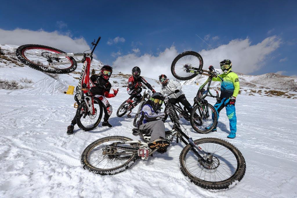 LA Winter Downhill, gara pazza sulla neve