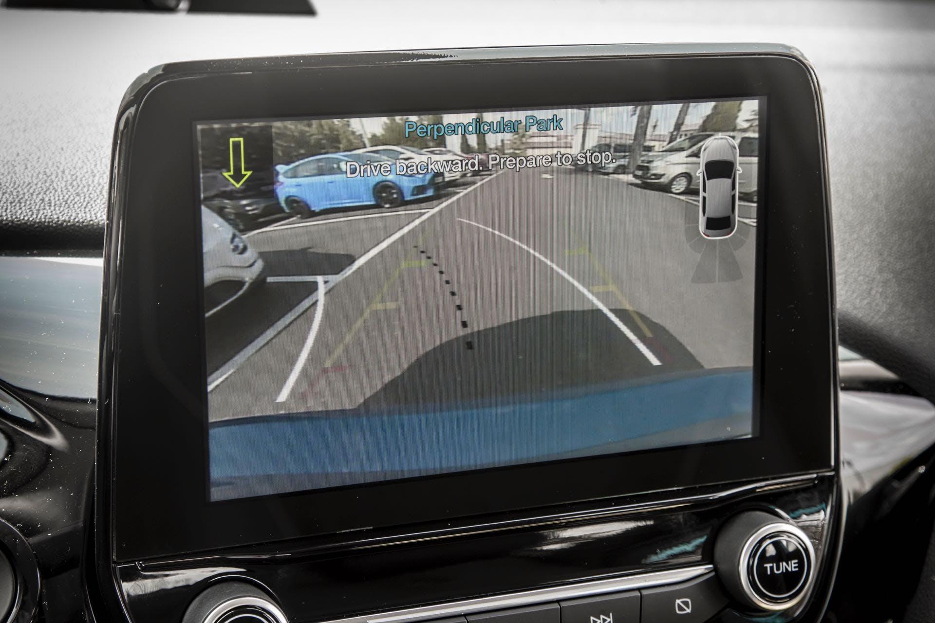 Sensore di parcheggio della Ford Fiesta Titanium