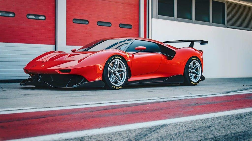 Ferrari P80/C, la one-off da competizione