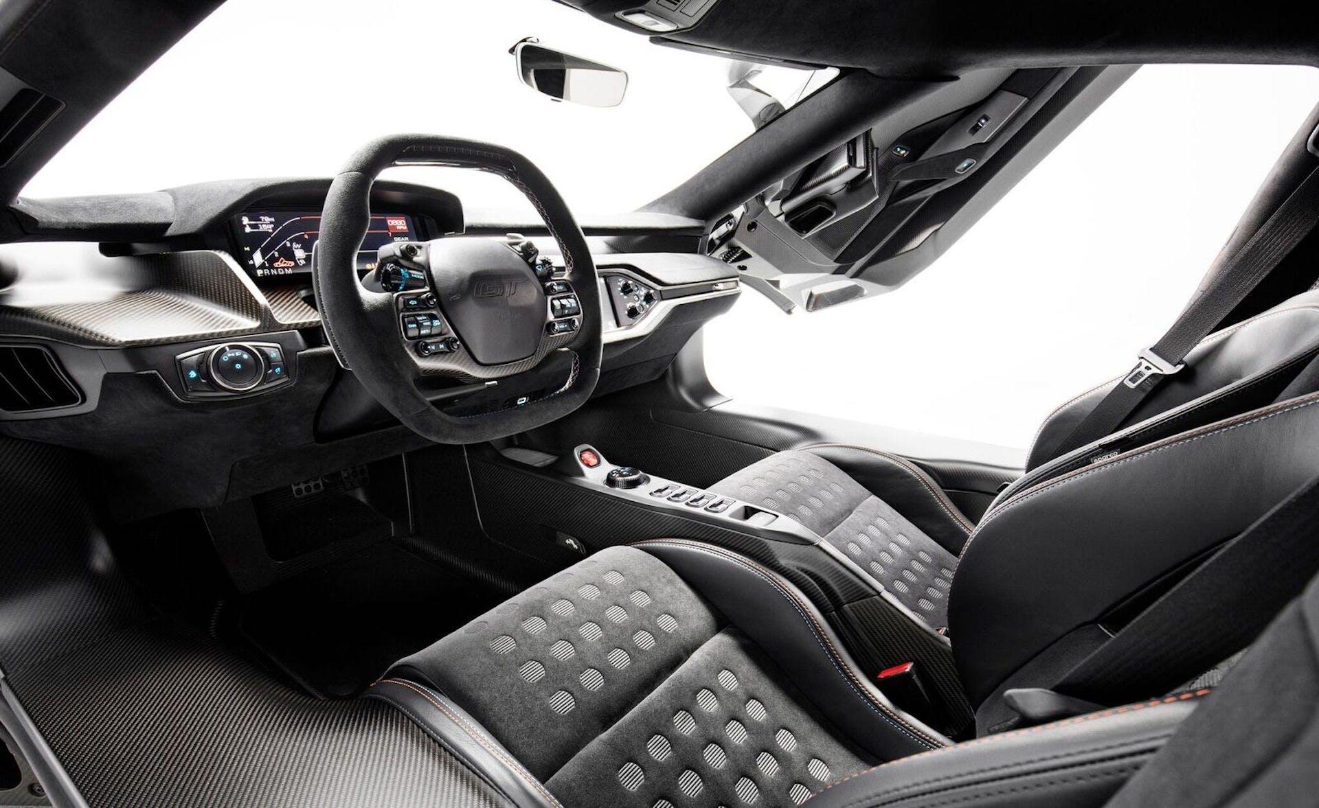 Ford GT Heritage Edition Interni