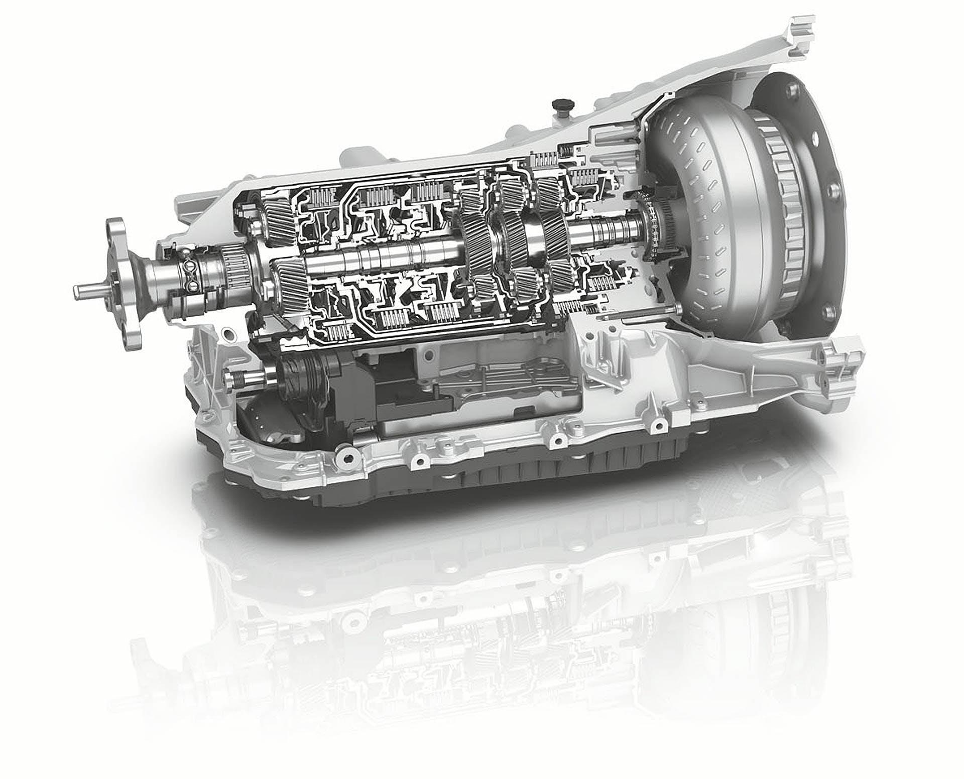 Cambio automatico a 8 rapporti ZF 8HP 50 seconda generazione della Alfa Romeo Stelvio