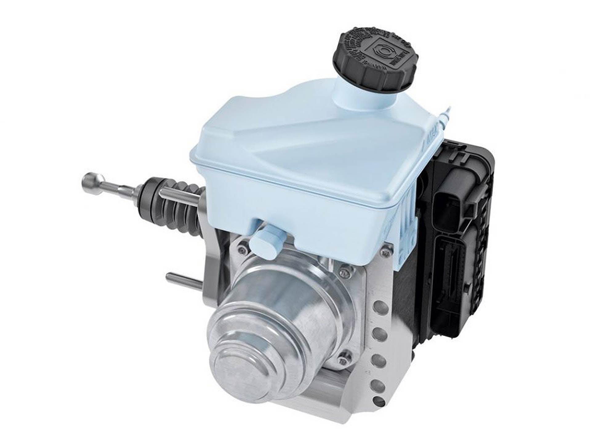 Il cuore del sistema frenante IBS Alfa Romeo: sistema Continental MKC1