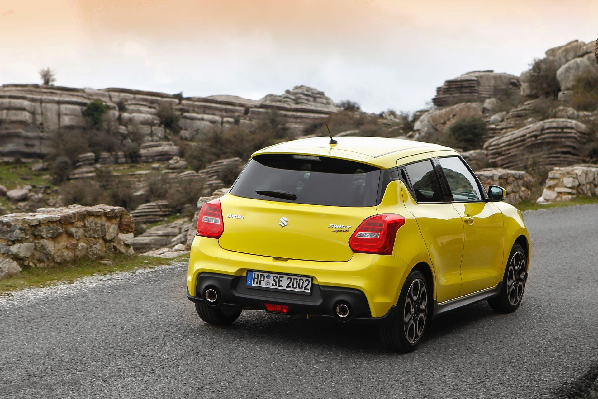 Suzuki Swift Sport in colore Champion Yellow