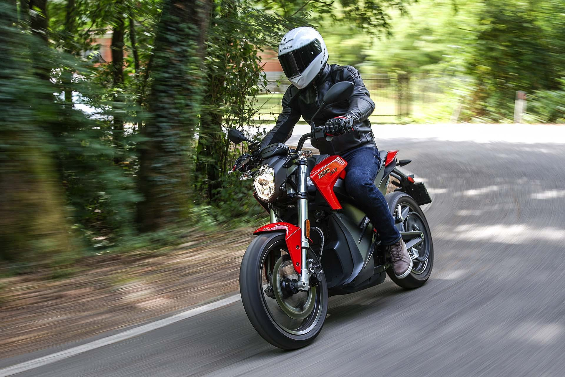 Zero Motorcycles SR - dinamica