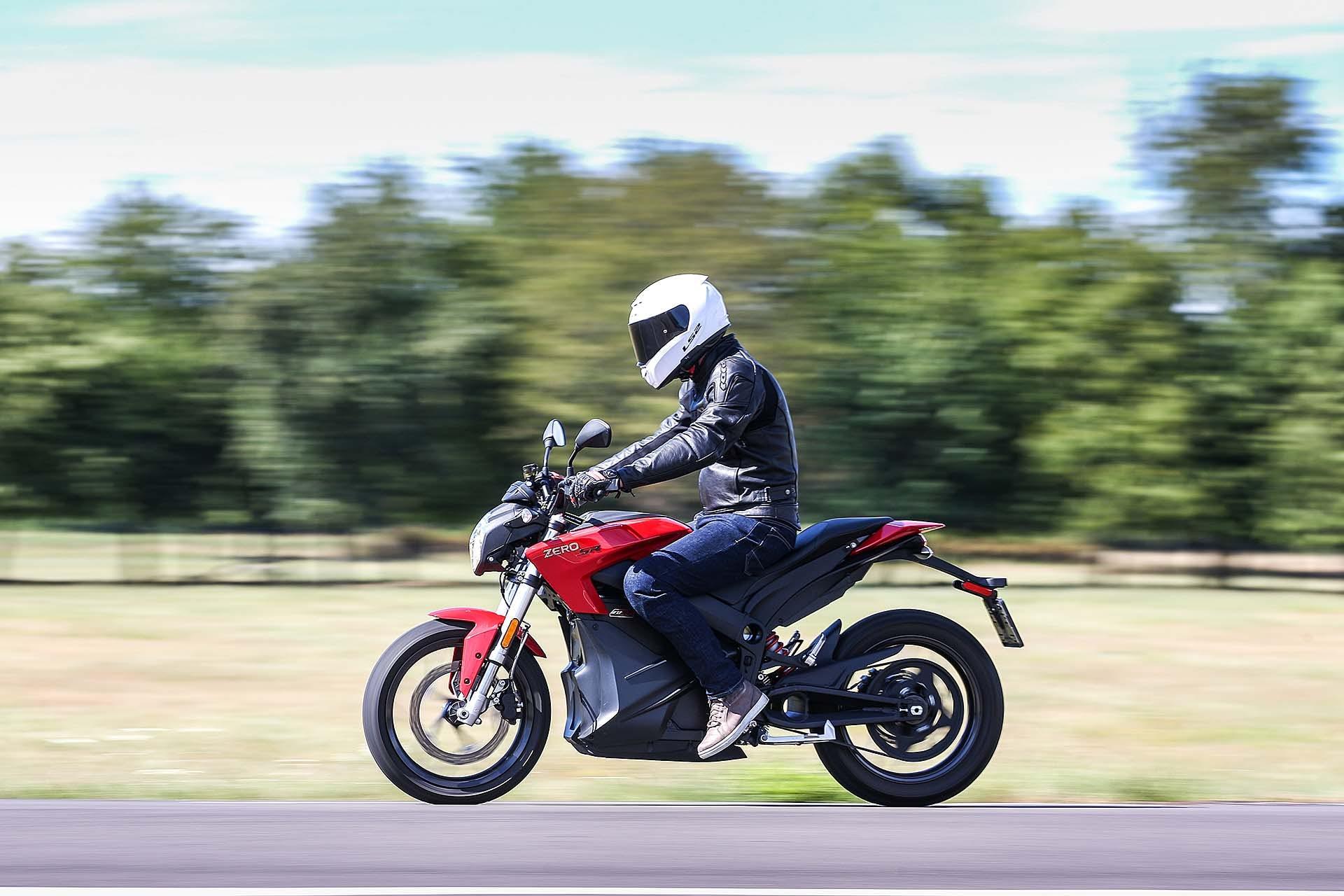 Zero Motorcycles SR - laterale