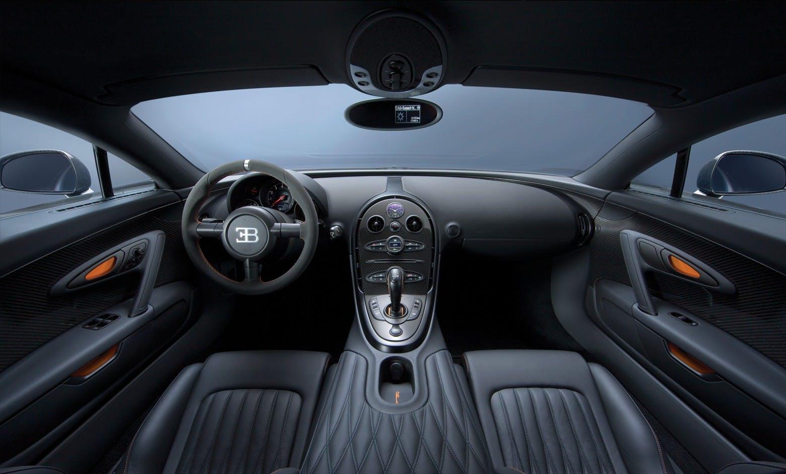 Bugatti Veyron 16.4 Super Sport interni