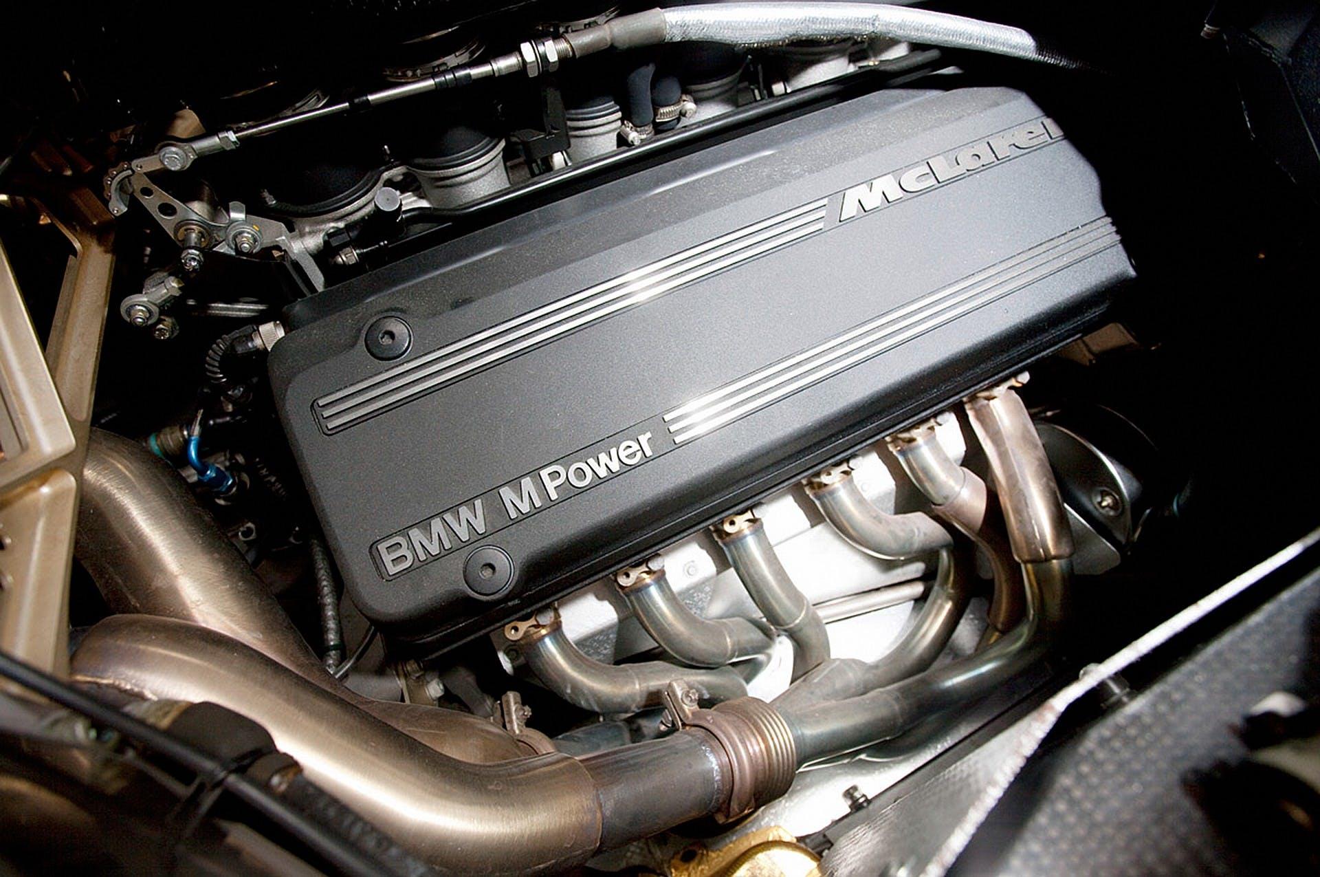 McLaren F1 motore