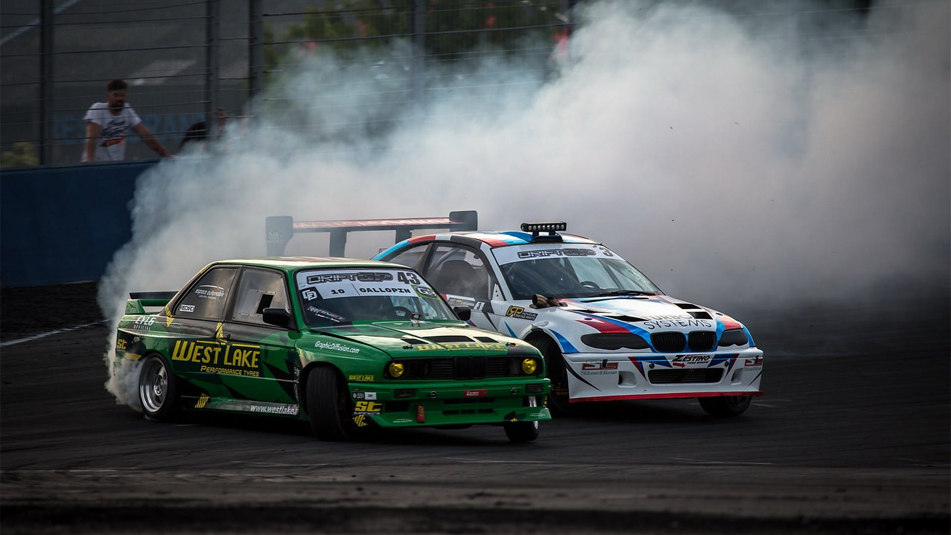 Motor Show drifting