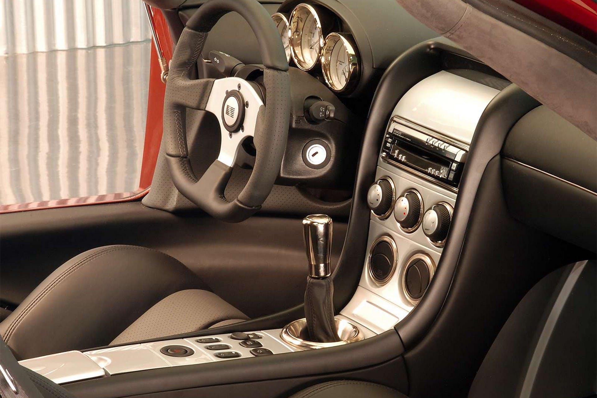 Saleen S7 Twin Turbo interni