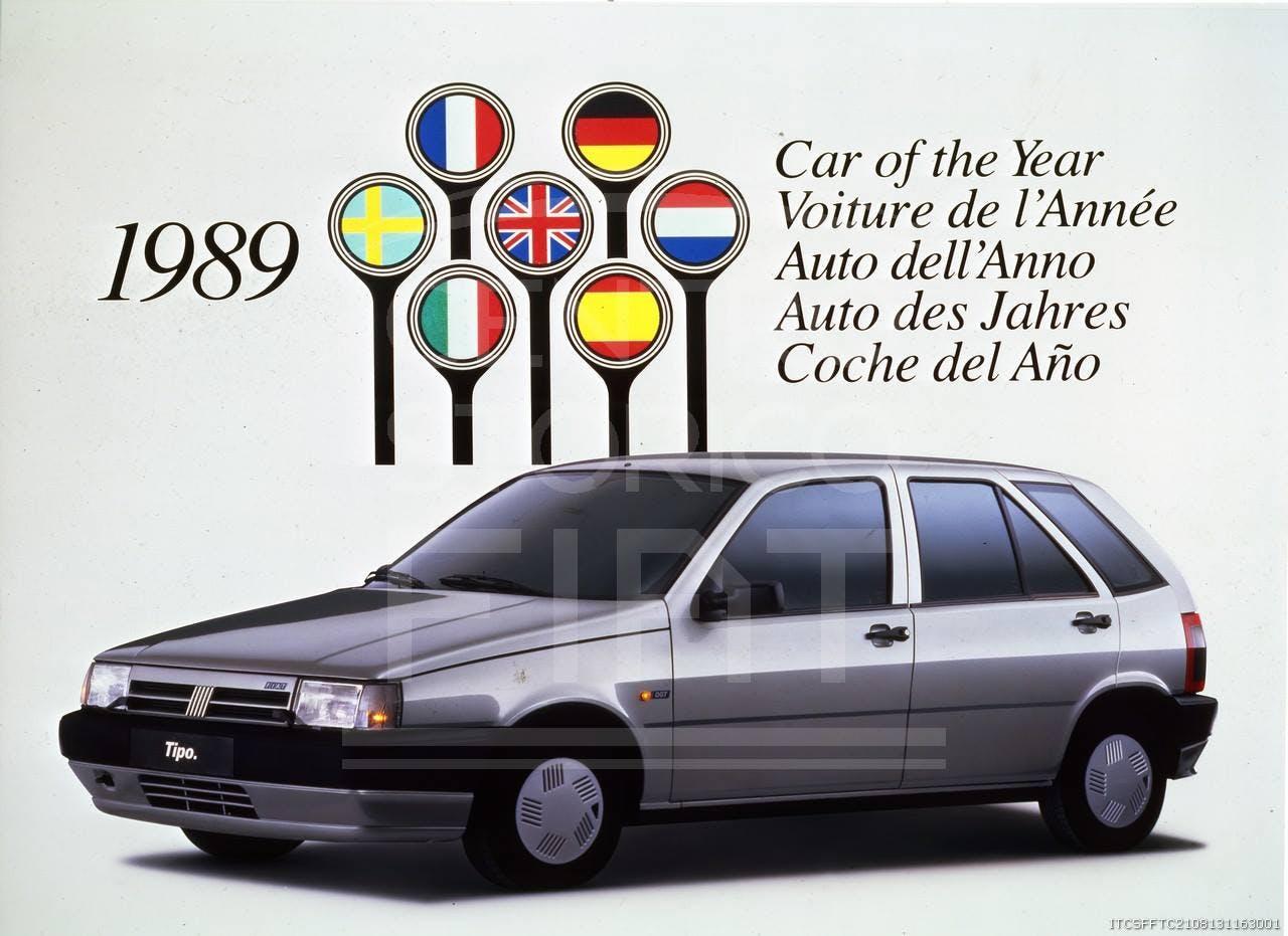Fiat Tipo Auto dell'Anno 1989