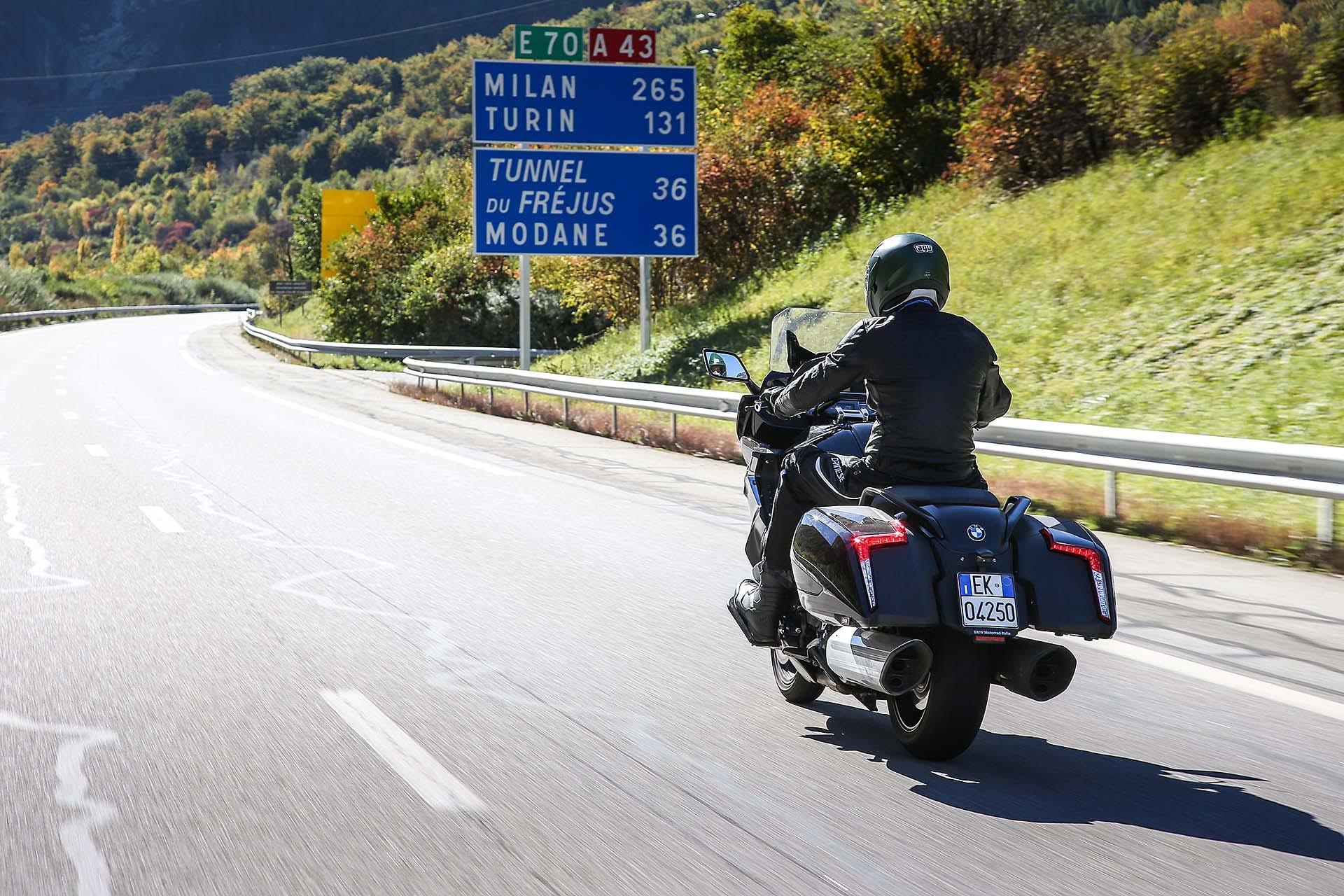 BMW K 1600 B in viaggio