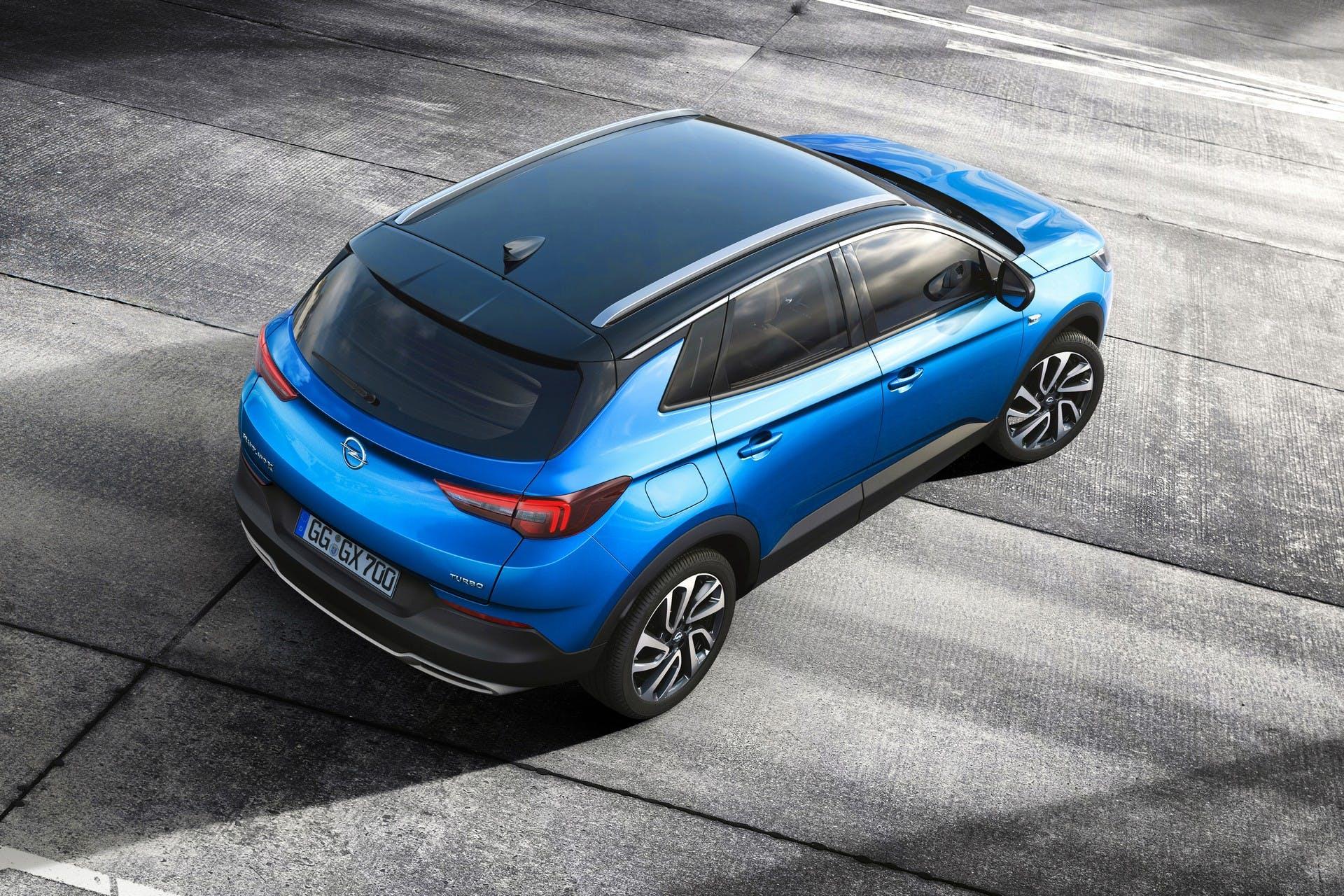 Opel Grandland X statica