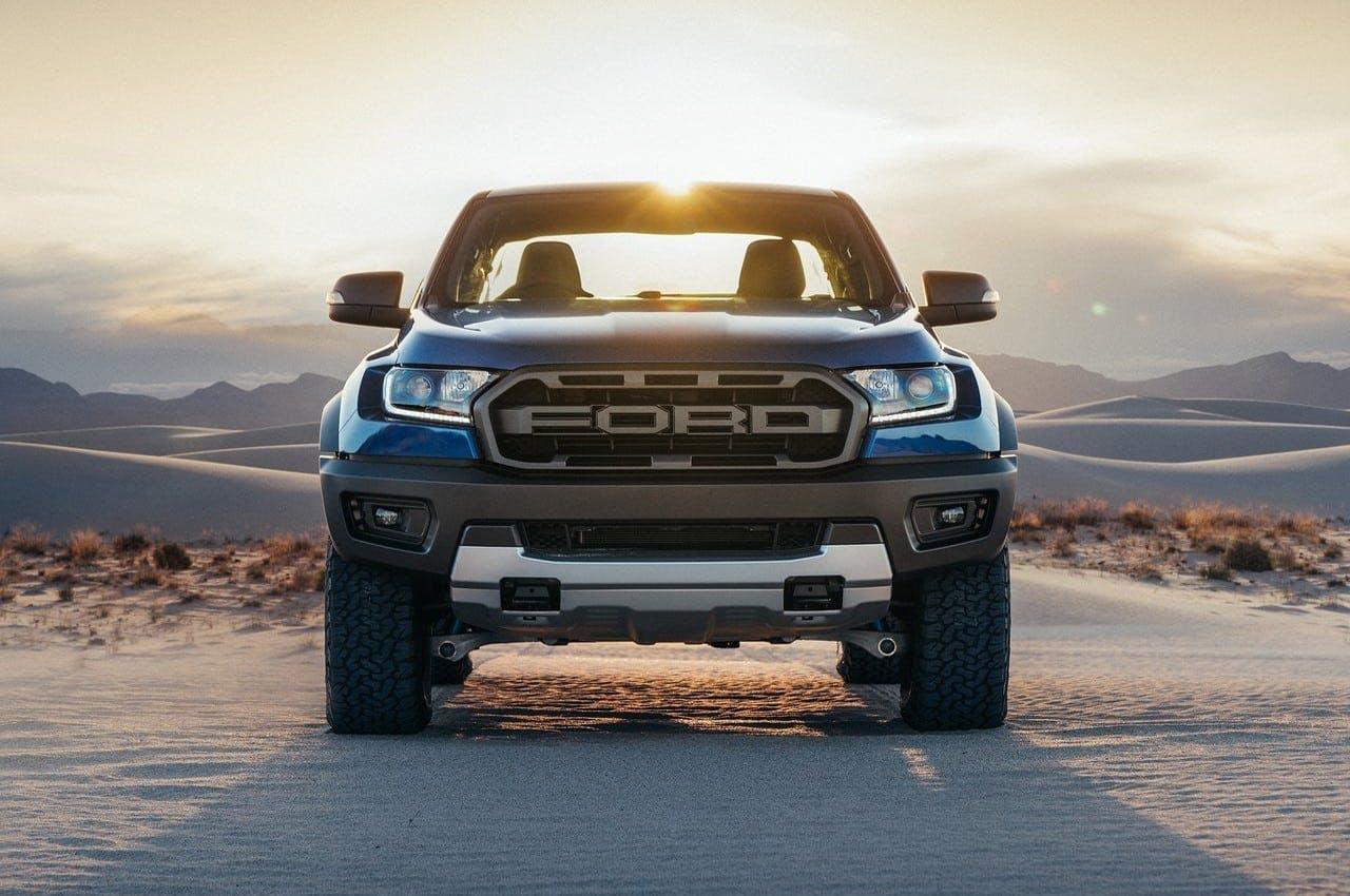 Ford Ranger Raptor 2019 Europa pick up vista frontale