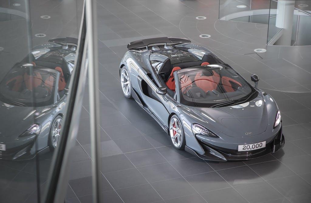 McLaren Automotive  Raggiunta quota 20.000 vetture