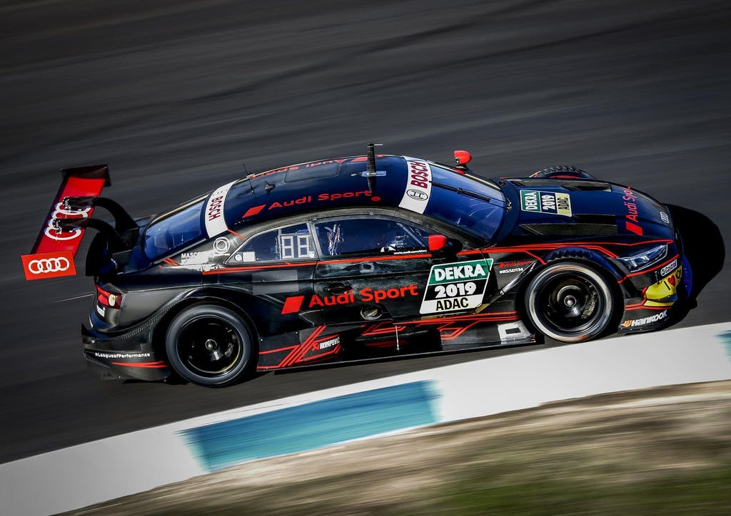 Andrea Dovizioso In pista nel Campionato DTM