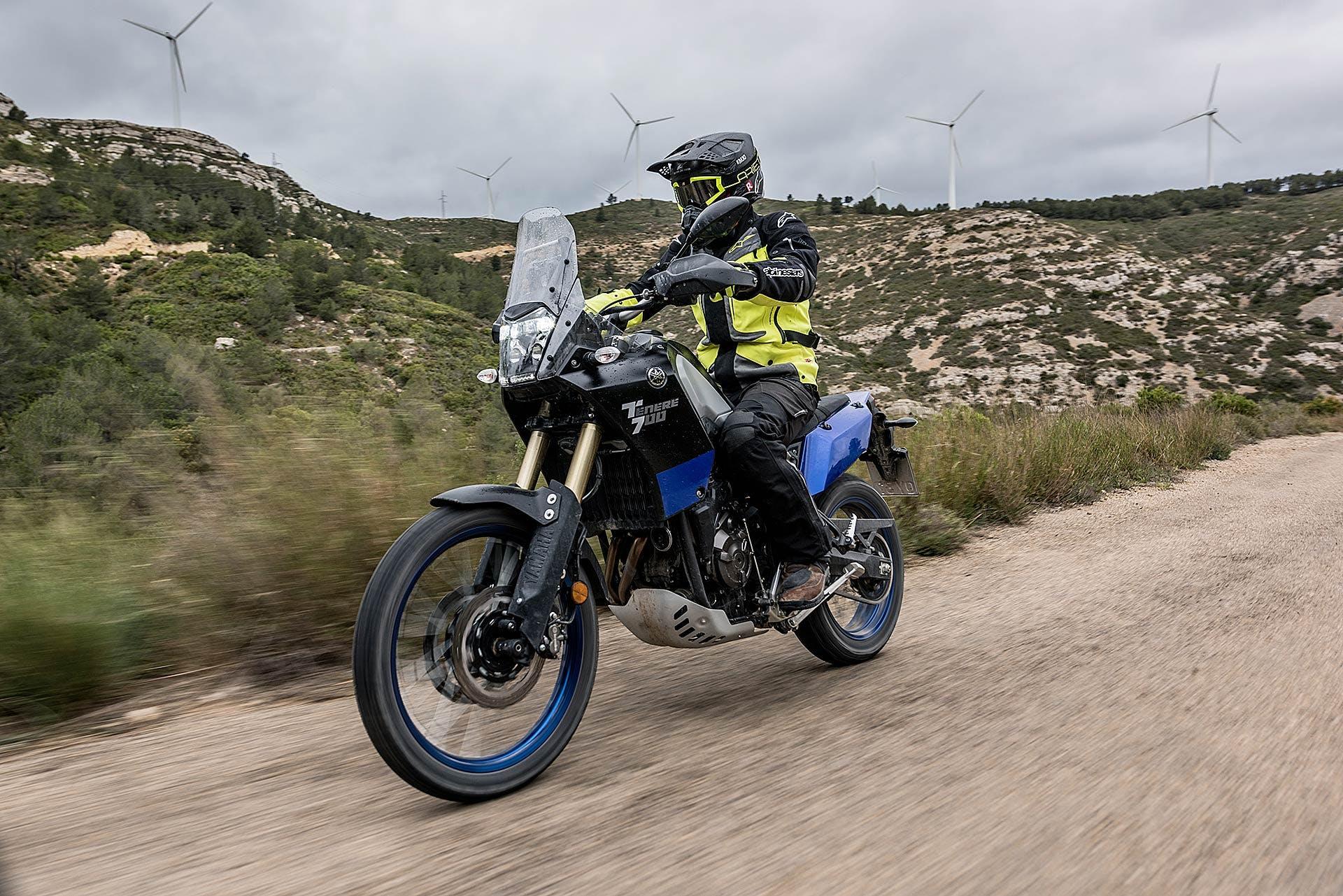 Yamaha Ténéré 700 in azione in off road moto per neopatentati A2