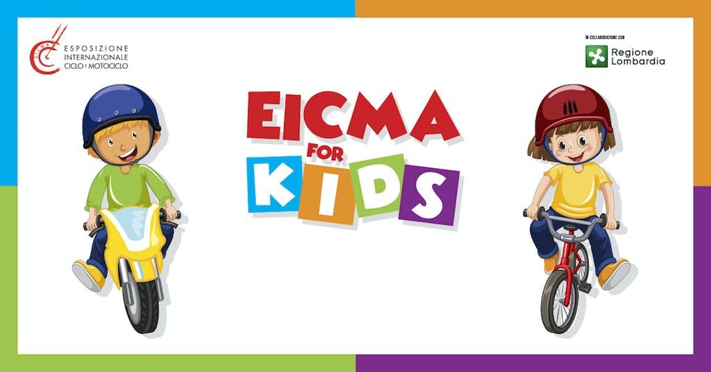 EICMA for kids, le due ruote spiegate ai più piccoli