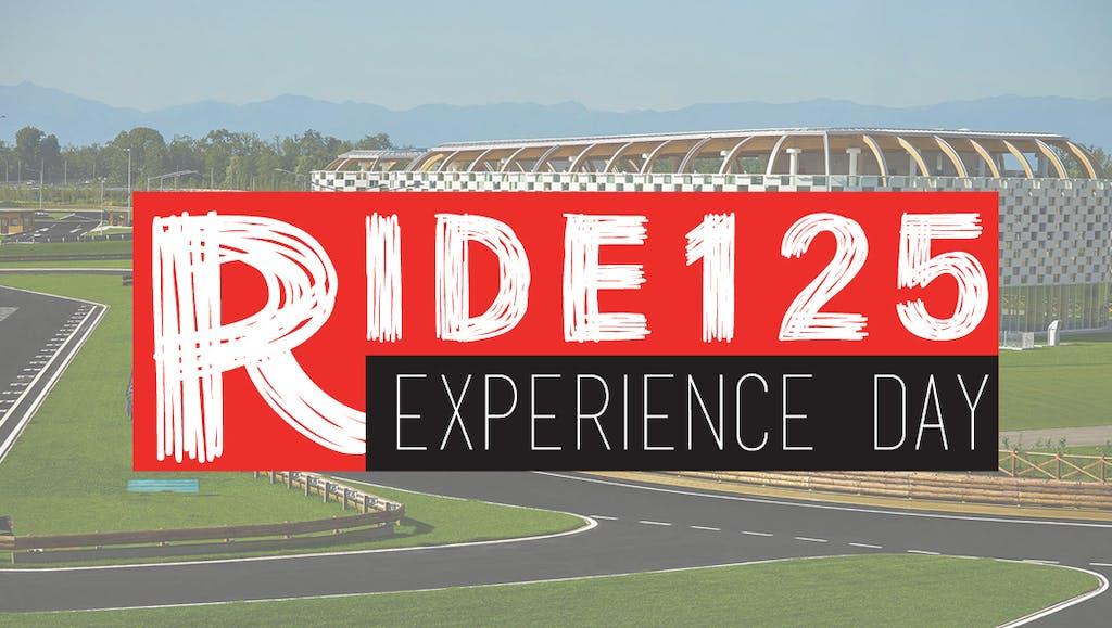 RIDE125 eXperience Day: tutte le informazioni dell'evento
