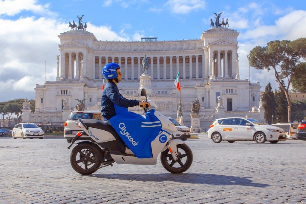 Cityscoot  Una flotta in arrivo a Roma