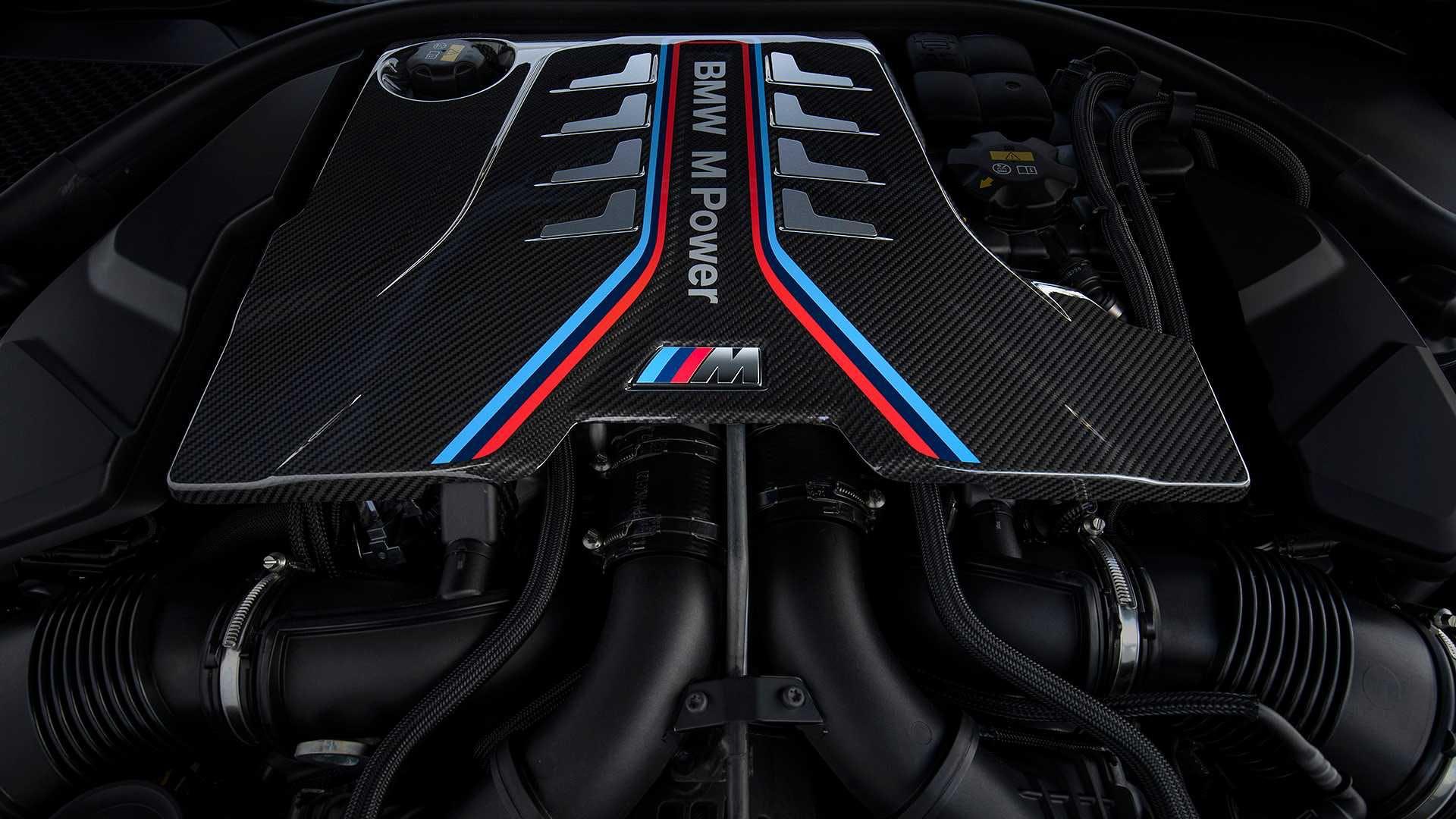 BMW-M8 motore