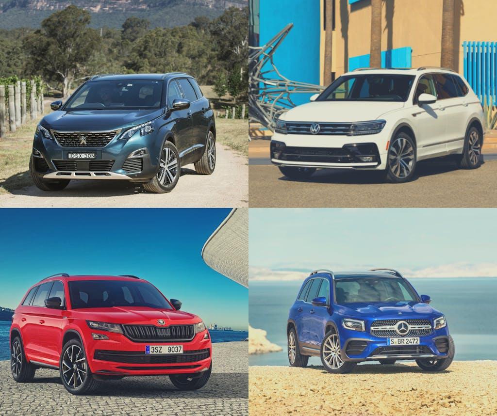 Mercedes GLB contro VW Tiguan Allspace e le altre SUV a 7 posti