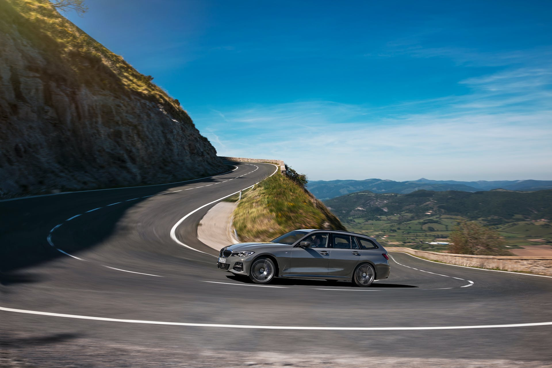 BMW Serie 3 Touring dinamica laterale